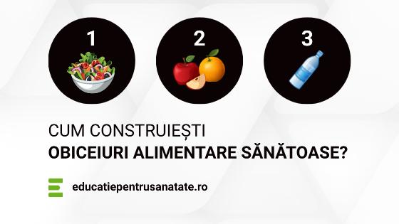 Cum construiești obiceiuri alimentare sănătoase